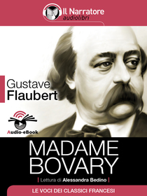 Gustave Flaubert, Madame Bovary. Audio-eBook