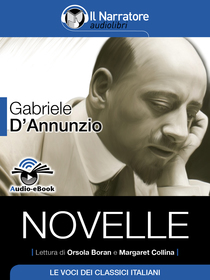 Gabriele D'Annunzio, Novelle. Audio-eBook