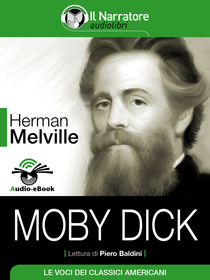Herman Melville, Moby Dick. Audio-eBook