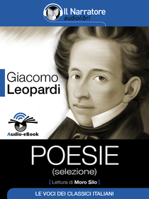 Giacomo Leopardi, Poesie. Audio-eBook