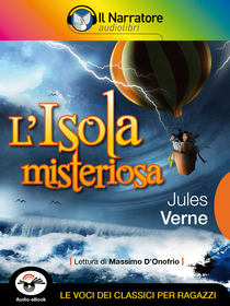 Jules Verne, L'isola misteriosa. Audio-eBook